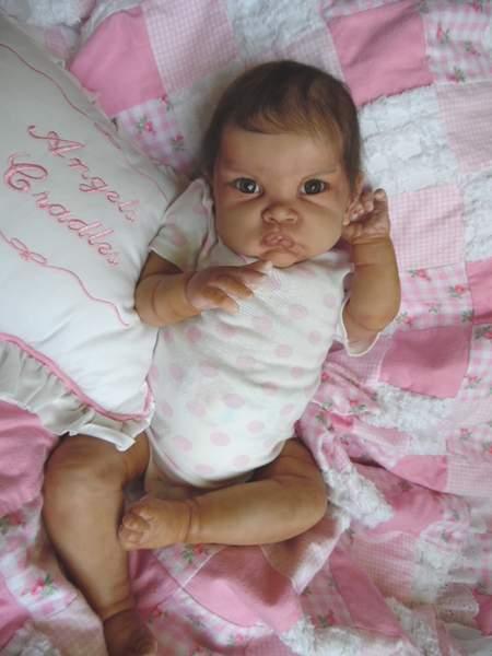 Baby Biracial Or Ethnic By Angels Cradle Reborns Com