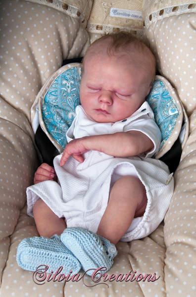 Asher realborn le custom order by amanda dallas - Baby boy versiering van de zaal ...