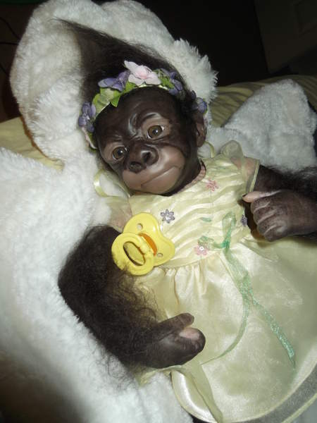 Baby Monkey Bindi By Bakers Reborn Babies Reborns Com