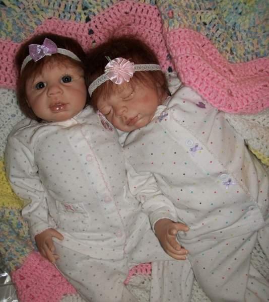 Twins Kaya And Krya By Bakers Reborn Babies Reborns Com