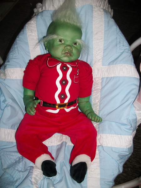 Grinch By Bakers Reborn Babies Reborns Com