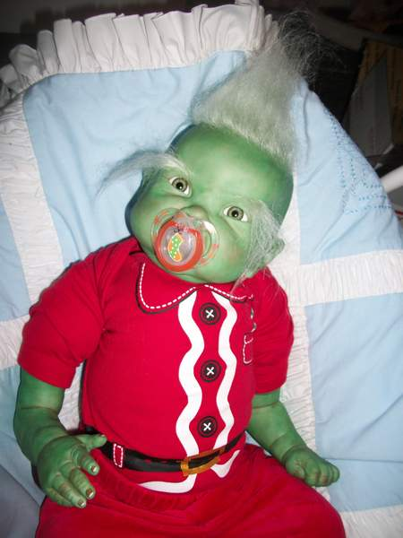 Grinch By Bakers Reborn Babies Reborns Com
