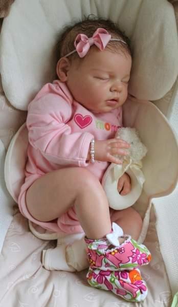 CUSTOM Reborn Newborn Baby Girl Doll Noah By Reva Schick ...