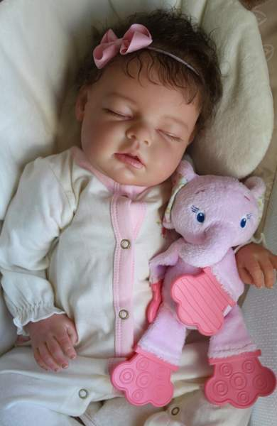 Custom Reborn Newborn Baby Girl Doll Noah By Reva Schick