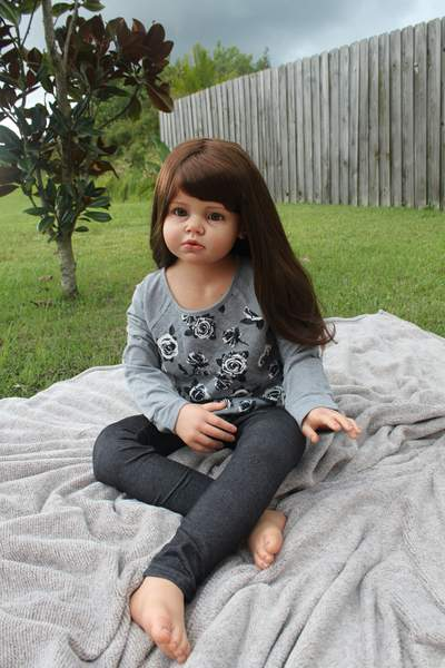 Reborn Toddler Child From The Angelica Sculpt By