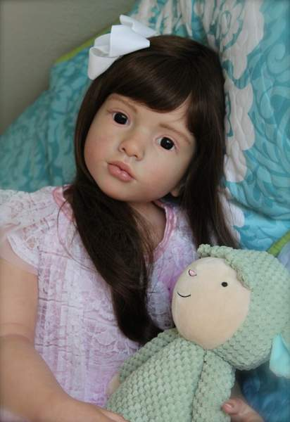 Custom Reborn Toddler Child Aloenka By Summerfield Babies