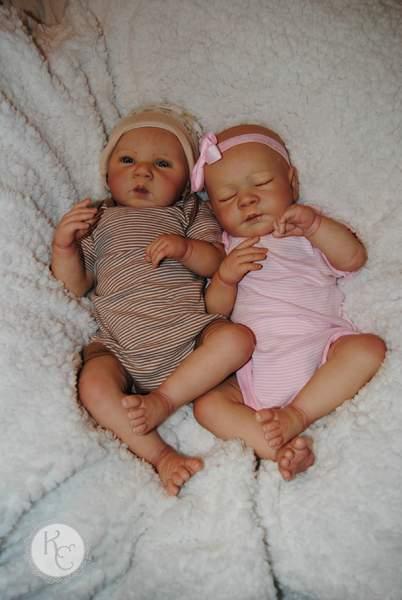 Twins Gena And Gabriel By Kathleen S Cradle Reborns Com